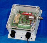 Wireless Contact Input Transmitter - Short Range (300 ft), Four Dry Contact Inputs