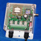 Wireless Receiver, Four Independent Relay Outputs