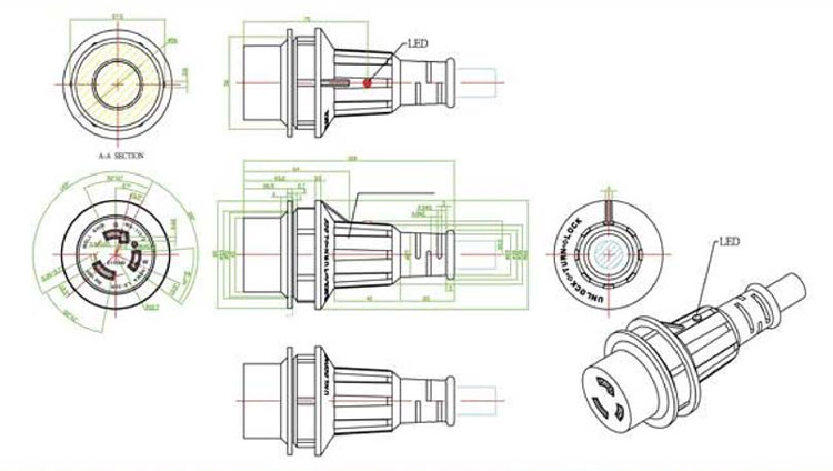 RV CAD Drawings From Mighty Cord